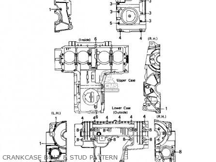 Kawasaki 1978 Kz650-d1a Sr parts list partsmanual partsfiche
