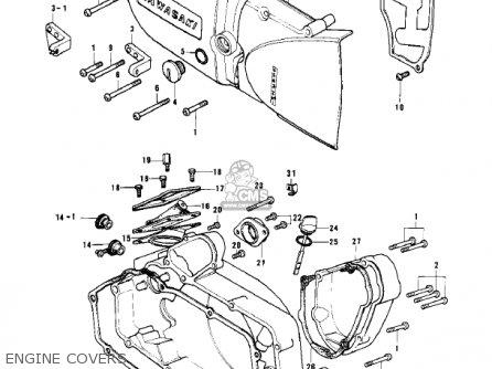 Kawasaki 1979 Kd125-a5 parts list partsmanual partsfiche