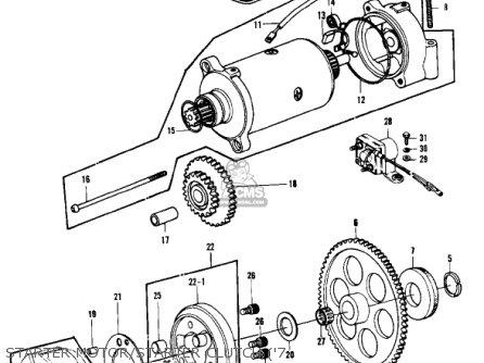 Kawasaki 1979 Kz1000-b3 Kz1000 Ltd parts list partsmanual