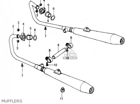 Kawasaki 1979 Kz400-b2 parts list partsmanual partsfiche