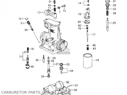 Kawasaki 1980 Kz1000-c3 Police 1000 parts list partsmanual