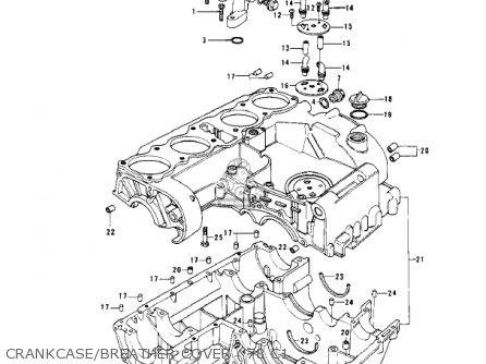 Kawasaki 1980 Kz1000-c3 Police 1000 parts list partsmanual