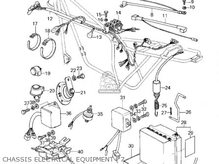 Kawasaki 1980 Kz1000-d3 Z1r parts list partsmanual partsfiche
