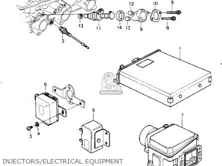 Kawasaki 1980 Kz1000-g1 Classic parts list partsmanual