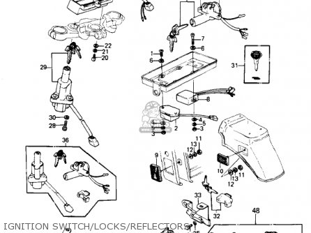 Kawasaki 1980 Kz1300-a2 parts list partsmanual partsfiche