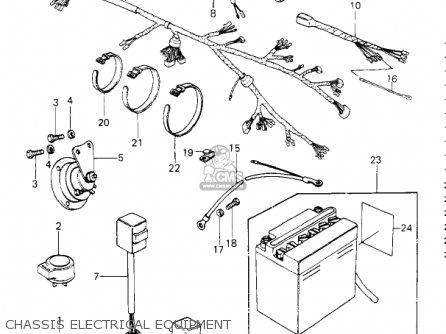 Kawasaki 1980 Kz650-e1 Ltd parts list partsmanual partsfiche