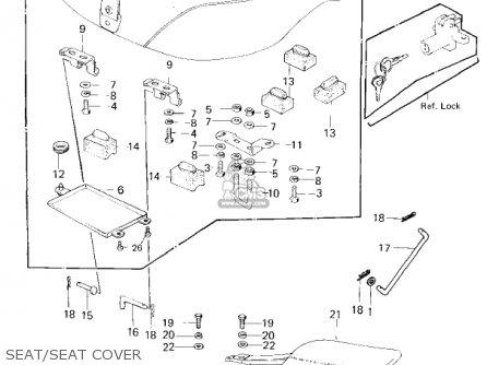 Kawasaki 1980 Kz650-f1 parts list partsmanual partsfiche