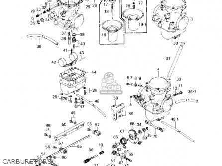 Kawasaki 1980 Kz750-g1 Ltd Ii parts list partsmanual