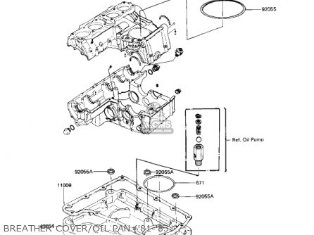 Kawasaki 1980 Kz750-h1 Ltd parts list partsmanual partsfiche