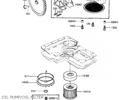 Kawasaki 1981 Kz1000-m1 Csr parts list partsmanual partsfiche