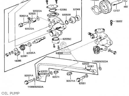 Kawasaki 1982 Kd80-m3 Kd80 parts list partsmanual partsfiche