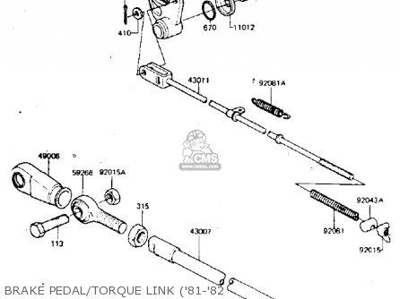Kawasaki 1982 Kdx175-a3 Kdx175 parts list partsmanual