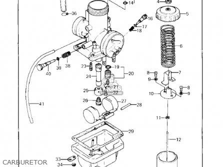 Kawasaki 1982 Kx80-c2 Kx80 parts list partsmanual partsfiche