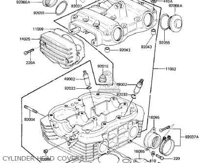 Kawasaki 1982 Kz305-b1 Csr Belt parts list partsmanual