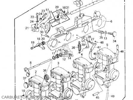 Kawasaki 1982 Kz550-a3 parts list partsmanual partsfiche