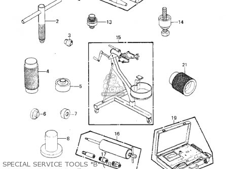Kawasaki 1982 Kz550-c3 Ltd parts list partsmanual partsfiche
