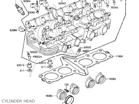 Oil Pump Oil Filter Schematic Kawasaki 1982 Kz750 R1 Gpz