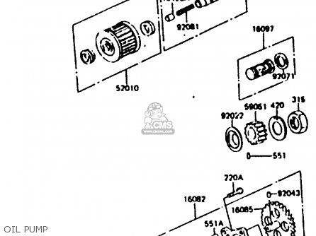 Kawasaki 1983 C1: Kl250 parts list partsmanual partsfiche