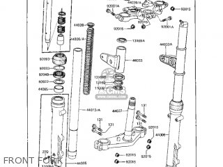 Kawasaki 1983 Kz1000-r2 Eddie Lawson Replica parts list