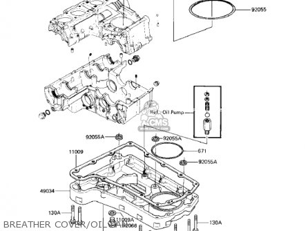 Kawasaki 1983 Kz750-f1 Ltd Shaft parts list partsmanual