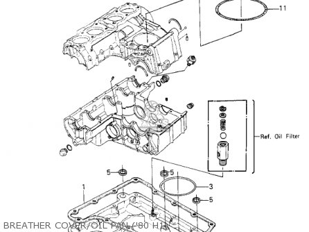 Kawasaki 1983 Kz750-h4 Ltd parts list partsmanual partsfiche