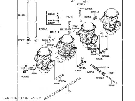Kawasaki 1983 Kz750-n2 Spectre parts list partsmanual