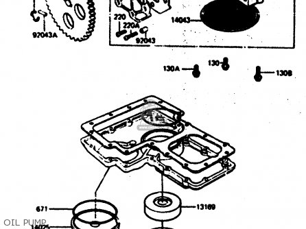 Kawasaki 1983 R2: Z1000 parts list partsmanual partsfiche