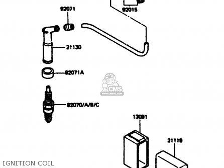 Kawasaki 1984 A1: Kl600 parts list partsmanual partsfiche