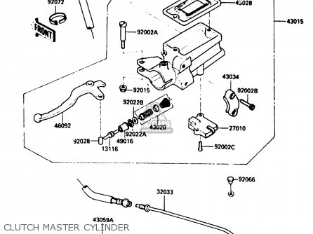 Kawasaki 1984 A1: Zx900 parts list partsmanual partsfiche