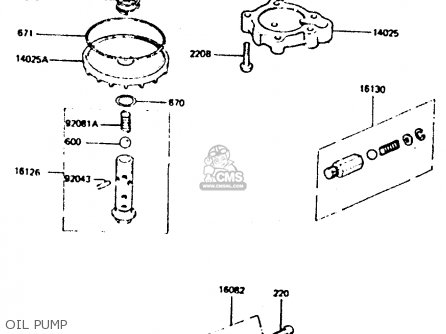 Kawasaki 1984 D6: Z440 parts list partsmanual partsfiche