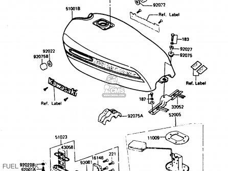 Fuel Tank: Fuel Tank Z750
