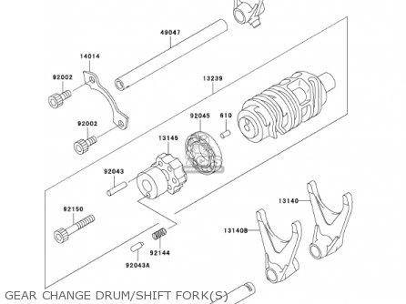 Kawasaki 1984 Zx900-a1 Ninja parts list partsmanual partsfiche