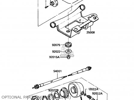 Kawasaki 1985 A3: Kdx200 parts list partsmanual partsfiche