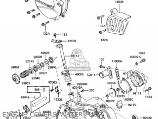 Kawasaki 1986 Kx125-e1 Kx125 parts list partsmanual partsfiche