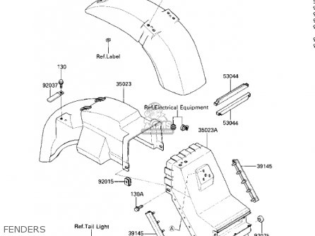 Kawasaki 1986 Zg1200-a1 Voyager Xii parts list partsmanual