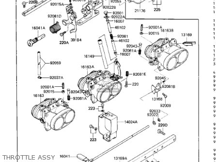 Kawasaki 1986 Zn1300-a4 Voyager parts list partsmanual