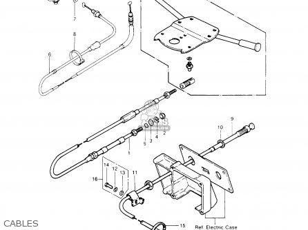 Kawasaki 1987 A11: Js440 parts list partsmanual partsfiche