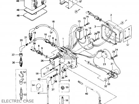 Kawasaki 1987 A11: Js440 (north America) parts list