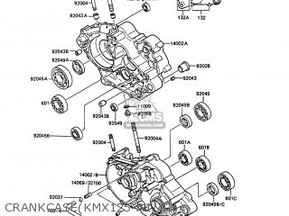 Kawasaki 1987 A2: Kmx125 parts list partsmanual partsfiche