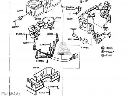 Kawasaki 1987 A2: Kmx125 parts list partsmanual partsfiche