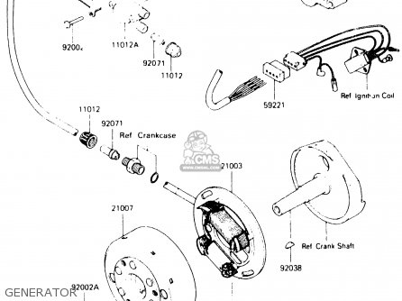 Kawasaki 1987 B2: Js300 parts list partsmanual partsfiche