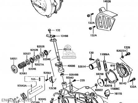 Kawasaki 1987 E2: Kx125 parts list partsmanual partsfiche