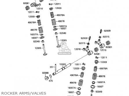 1985 kawasaki ninja 600 wiring diagram schematic