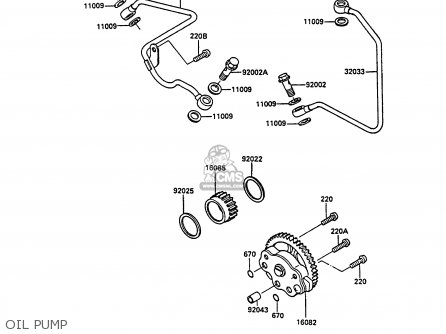 Kawasaki 1988 A4: Klf185 parts list partsmanual partsfiche