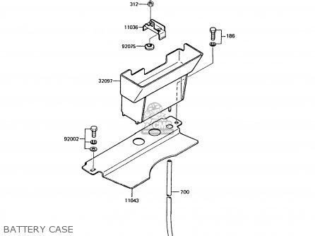 Kawasaki 1988 A6: Ar125 parts list partsmanual partsfiche