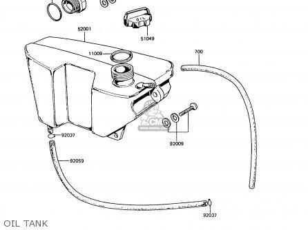 Kawasaki 1988 B7: Ke100 parts list partsmanual partsfiche