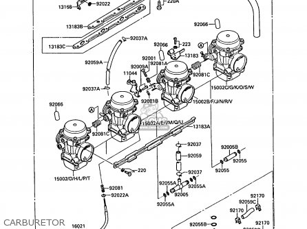 Kawasaki 1988 F2: Zx750 parts list partsmanual partsfiche