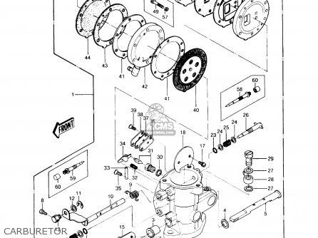 Kawasaki 1989 A13: Js440 parts list partsmanual partsfiche