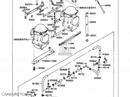 Kawasaki 1989 A3: Ex500 parts list partsmanual partsfiche