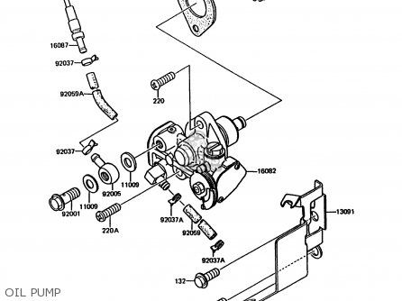 Kawasaki 1989 A3: Kmx200 parts list partsmanual partsfiche